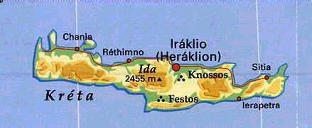 Kreta Srpen 1998